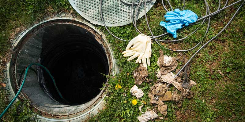 Septic tanks are generally part of a gravity system